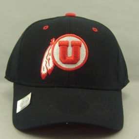 Utah Utes Black One Fit Hat