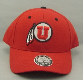 Utah Utes Dynasty Fitted Hat