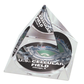 Chicago White Sox Crystal Pyramid