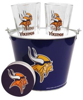 Minnesota Vikings Gift Bucket Set