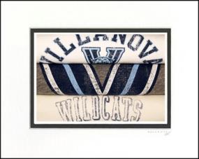 Villanova Wildcats Vintage T-Shirt Sports Art
