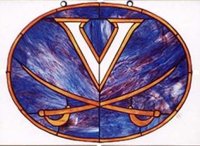 Virginia Cavaliers Suncatcher