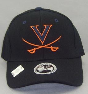 Virginia Cavaliers Black One Fit Hat