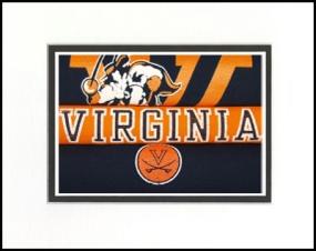 Virginia Cavaliers Vintage T-Shirt Sports Art