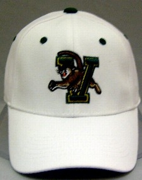 Vermont Catamounts White One Fit Hat