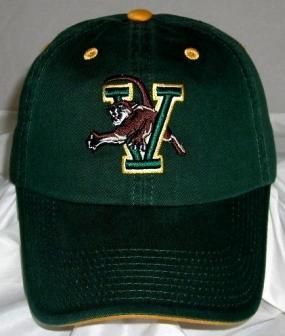 Vermont Catamounts Adjustable Crew Hat