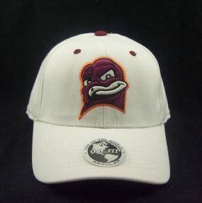 Virginia Tech Hokies White One Fit Hat