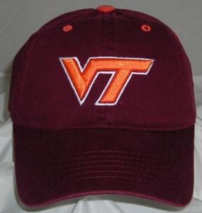 Virginia Tech Hokies Adjustable Crew Hat
