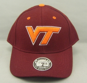 Virginia Tech Hokies Dynasty Fitted Hat