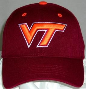 Virginia Tech Hokies Team Color One Fit Hat