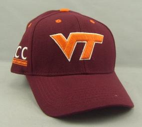 Virginia Tech Hokies Adjustable Hat