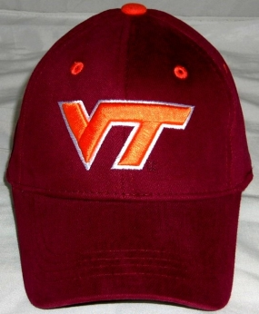 Virginia Tech Hokies Youth Team Color One Fit Hat