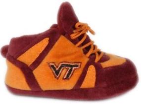 Virginia Tech Hokies Baby Slippers