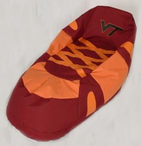 Virginia Tech Hokies Bean Bag Boot Slipper Chair