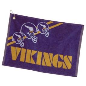 Minnesota Vikings Jacquard Golf Towel