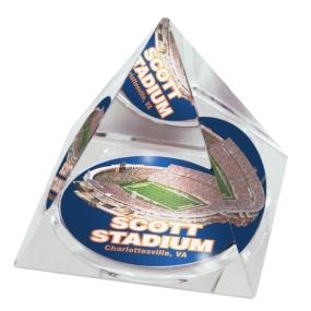 Virginia Cavaliers Crystal Pyramid