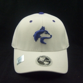Washington Huskies White One Fit Hat