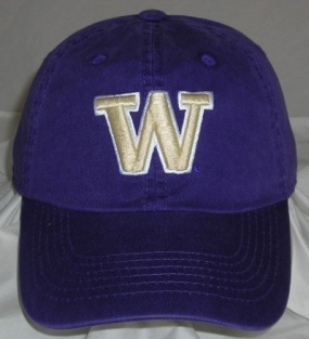 Washington Huskies Adjustable Crew Hat