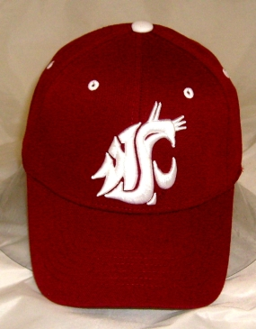 Washington State Cougars Team Color One Fit Hat