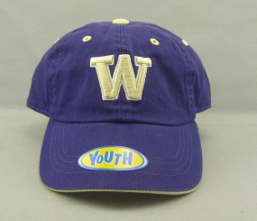 Washington Huskies Youth Crew Adjustable Hat