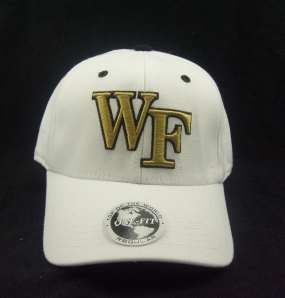 Wake Forest Demon Deacons White One Fit Hat
