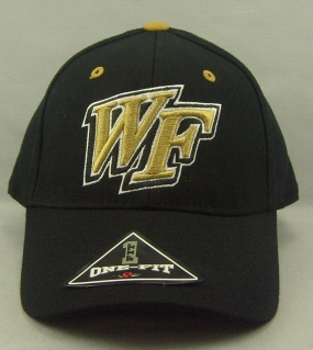 Wake Forest Demon Deacons Black One Fit Hat