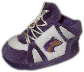 Washington Huskies Baby Slippers