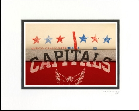 Washington Capitals Vintage T-Shirt Sports Art