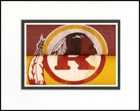 Washington Redskins Vintage T-Shirt Sports Art