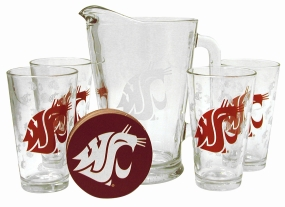 Washington State Cougars Pitcher Set