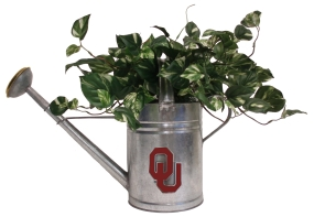 Oklahoma Sooners Watering Can