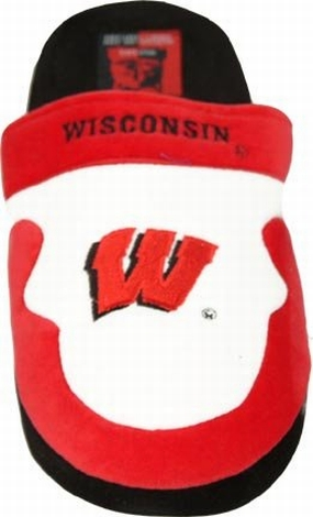 Wisconsin Badgers Slippers