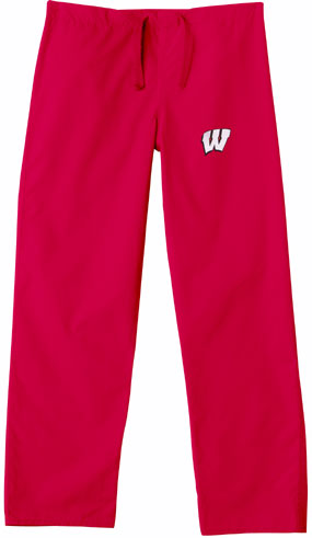 Wisconsin Badgers Scrub Pants