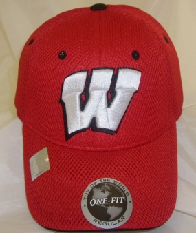 Wisconsin Badgers Elite One Fit Hat