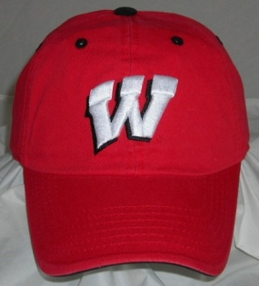 Wisconsin Badgers Adjustable Crew Hat