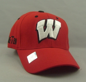 Wisconsin Badgers Adjustable Hat
