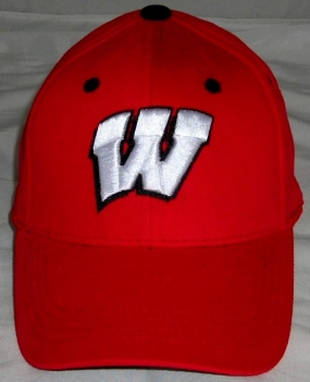 Wisconsin Badgers Youth Team Color One Fit Hat