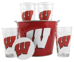 Wisconsin Badgers Gift Bucket Set