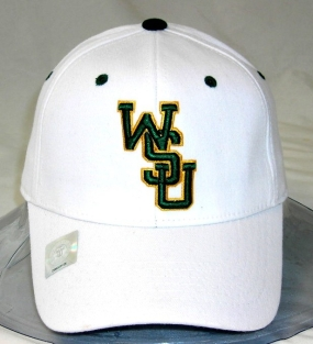 WSU Raiders White One Fit Hat