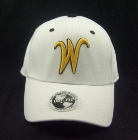 Wichita State Shockers White One Fit Hat