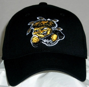Wichita State Shockers Black One Fit Hat