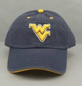 West Virginia Mountaineers Adjustable Crew Hat