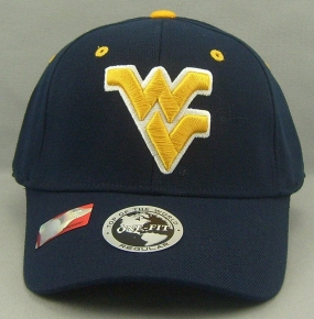 West Virginia Mountaineers Team Color One Fit Hat