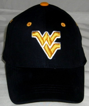 West Virginia Mountaineers Youth Team Color One Fit Hat