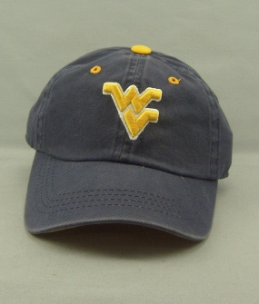 West Virginia Mountaineers Youth Crew Adjustable Hat
