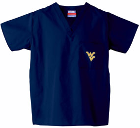 West Virginia Mountaineers Scrub Top