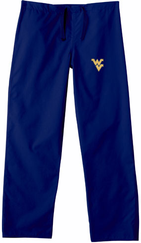 West Virginia Mountaineers Scrub Pants