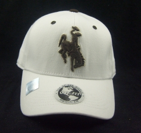 Wyoming Cowboys White One Fit Hat