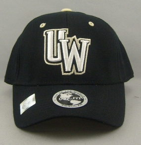Wyoming Cowboys Black One Fit Hat