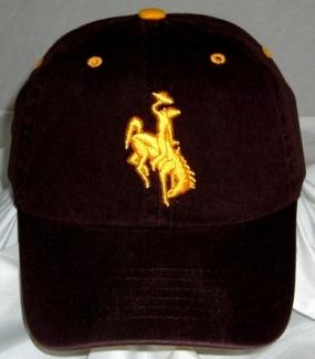 Wyoming Cowboys Adjustable Crew Hat